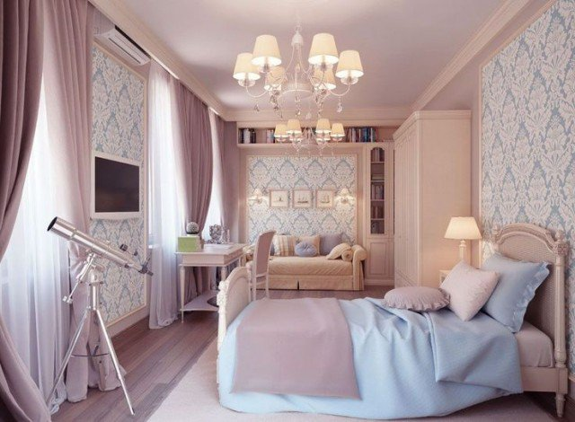 Beautiful girly bedroom designs you would like to have in for Bedroom designs girly