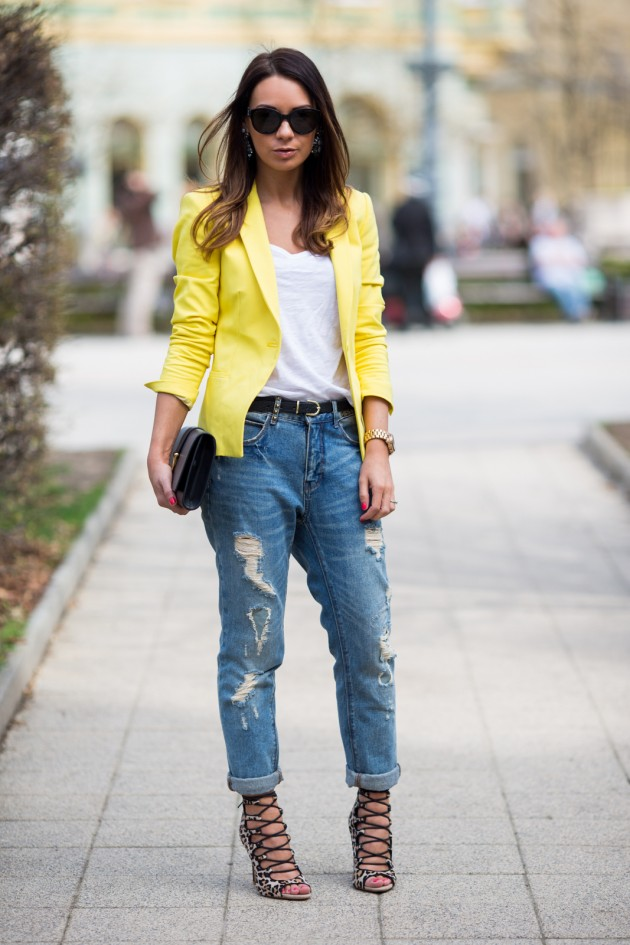 Boyfriend Jeans Outfits For The Spring u0026 Summer Season
